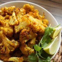 Spicy Gobi (Roasted Cauliflower) by @Sia Krishna