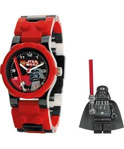 LEGO� Star Wars Boys' Darth Vader Buildable Watch.