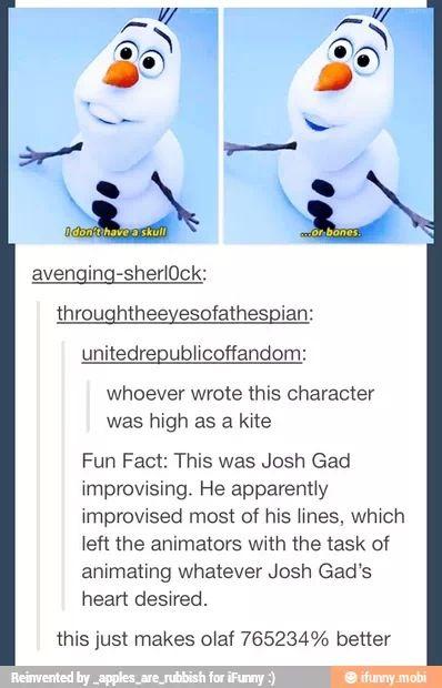 frozen fun fact