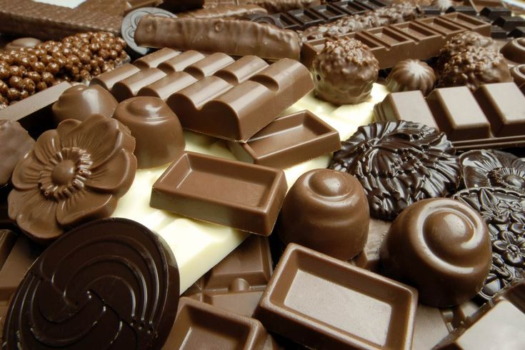 Thankful  for chocolate . Many different kinds. All is good. Cures the blues.