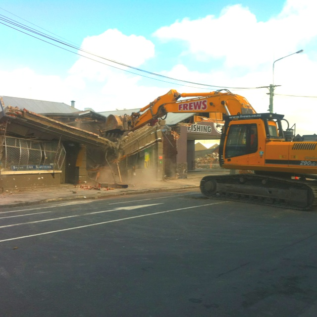 Our old favourite local cafe! Gone forever! RIP Coffee on Cashel :-(
