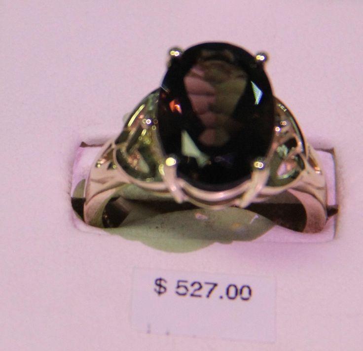 Feature of the week: Oval Smokey Quartz Ring. #Orangeville #Jewellery