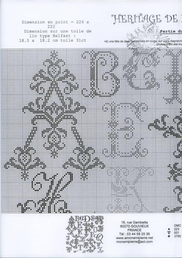 Heritage Letters Sampler • 2/5 Upper LHS Corner