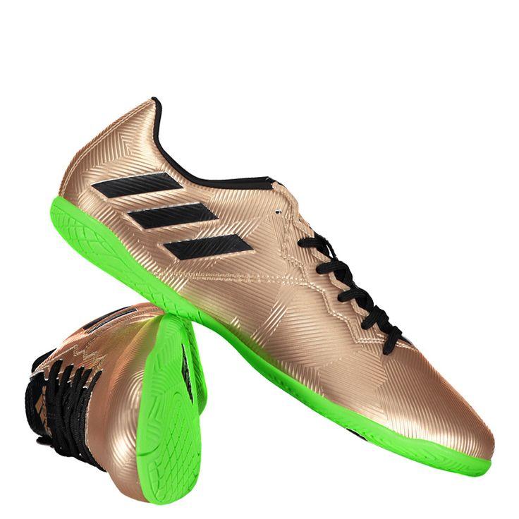 Chuteira Adidas Messi 16.4 IN Futsal Dourada Juvenil Somente na FutFanatics você compra agora Chuteira Adidas Messi 16.4 IN Futsal Dourada Juvenil por apenas R$ 199.90. Futsal. Por apenas 199.90