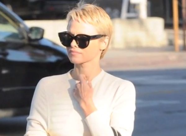 Pixie haircut: Pam Anderson's do invokes some Tinker Bell magic