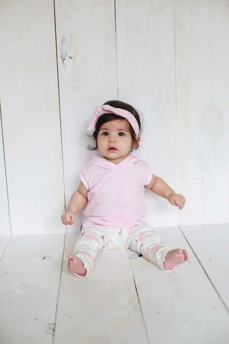 Tiny Button Apparel S/S16 collection. Hooded bamboo tanks, 100% Organic Cotton Leggings, floral print, bamboo headband. Photo credit What Dreams May Become photography