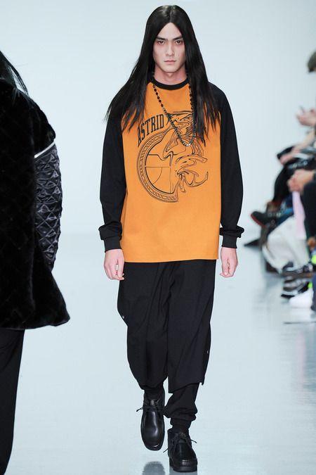 thetentsofbryantpark:  Astrid Andersen Menswear Fall 2014  Jewels by Black Dakini