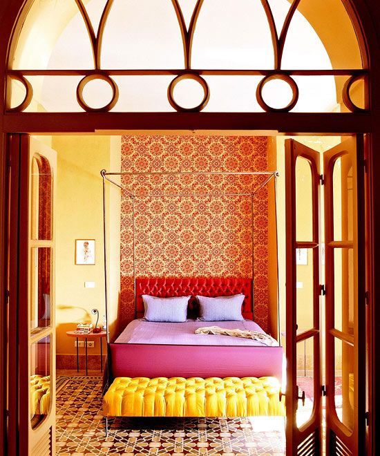 17 Best Ideas About Bright Colored Bedrooms On Pinterest