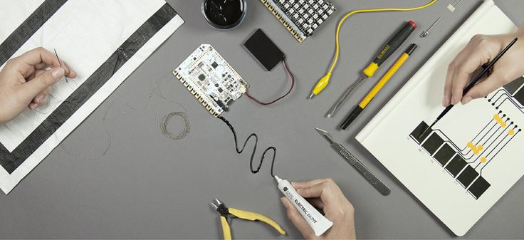 Bare Conductive is a great resource for great step by step #electric circuit projects. You can purchase electric paint, a touch board, and other materials needed for projects through the site.