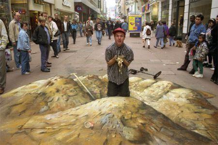 16Chalkart, Sidewalk Art, Chalk Drawing, Street Art, Sidewalk Chalk, Art Painting, Julian Beever, Streetart, Chalk Art