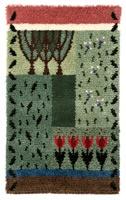 """Modern rug """"Puutarhassa"""" from AnnaQ www.annaq.com"""