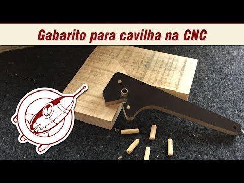 (114) Gabarito para cavilha na cnc caseira - Maker Brasil - YouTube