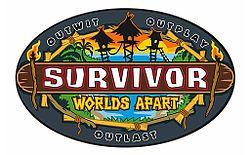 Survivor: Worlds Apart | White Collar vs. Blue Collar vs. No Collar (logo)