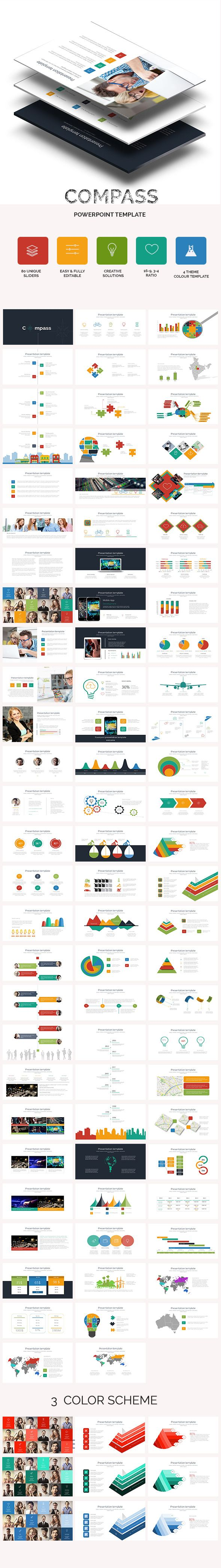 Compass Business PowerPoint Presentation Template #powerpoint #design #slides Download: http://graphicriver.net/item/compass-business-powerpoint-presentation-template/10862478?ref=ksioks
