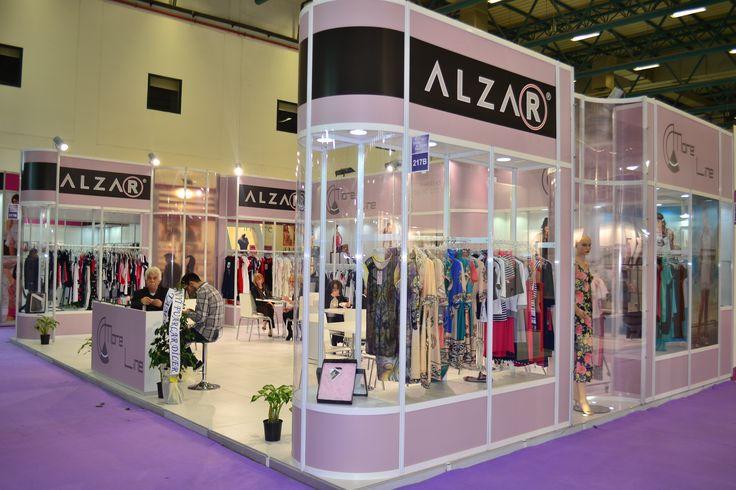 Alzar Exhibition Stand 2014 İfexpo