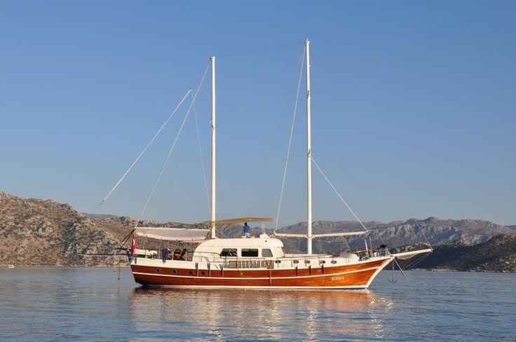 Toska gulet bir harika.. 21 metre ve 6 kabin üstelik çok yeni !!