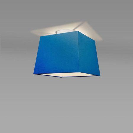 Plafon Ton 30 kwadratowy niebieski