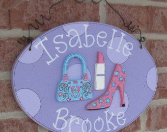 Custom Personalized Name or Word Oval Sign for children home
