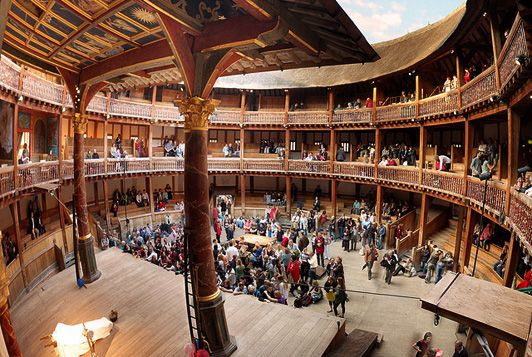 an analysis of the globe theatre in shakespeares greatest play Shakespeare's life and world search the site go  shakespeare's globe theatre  article how did william shakespeare die list globe theatre pictures article.