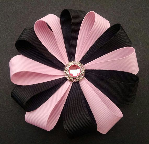 Hey, I found this really awesome Etsy listing at https://www.etsy.com/listing/170323215/pink-flower-hairbow-girls-hairbow