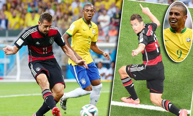 Miroslav Klose has become the top scorer in World Cup history #miroslavklose #worldcup2014