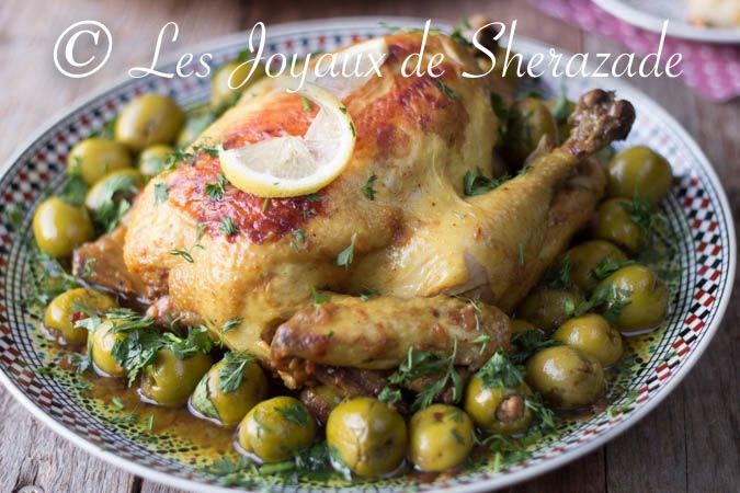 Chicken with olives algerian cuisine this is google for Cuisine sentence