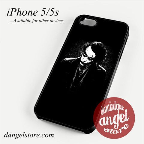 Joker Black Phone case for iPhone 4/4s/5/5c/5s/6/6 plus