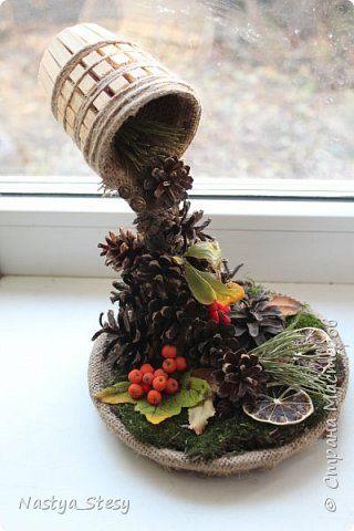 Доброго времени страна! Сегодня хочу показать что сделала сыну в садик на конкурс, на тему Осень. Вдохновила вот эта работа http://stranamasterov.ru/node/816091?c=favorite фото 1