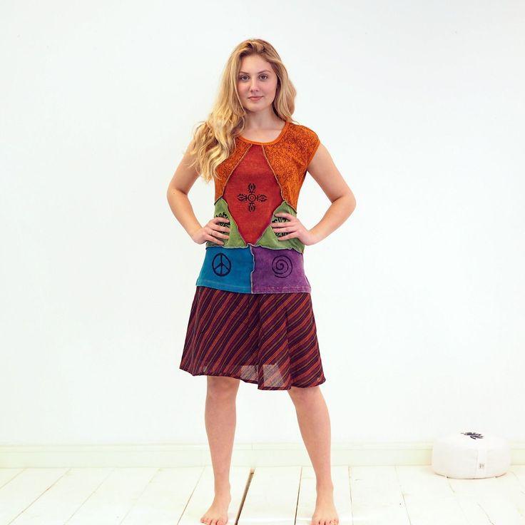 Hippie shirt - Handgemaakte Hippie kleding uit Nepal -