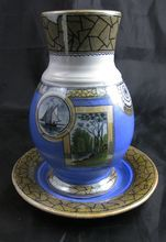 Victorian Aesthetic Movement Toothbrush Holder with Drainer 1880 $66 on sale from 95