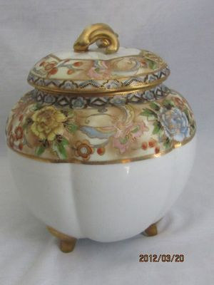 Noritake Nippon Cracker Biscuit Jar Mark 47 | eBay