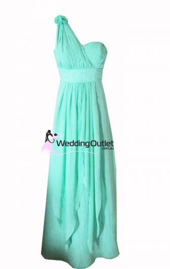 Aqua Bridesmaid Dress Style #C103