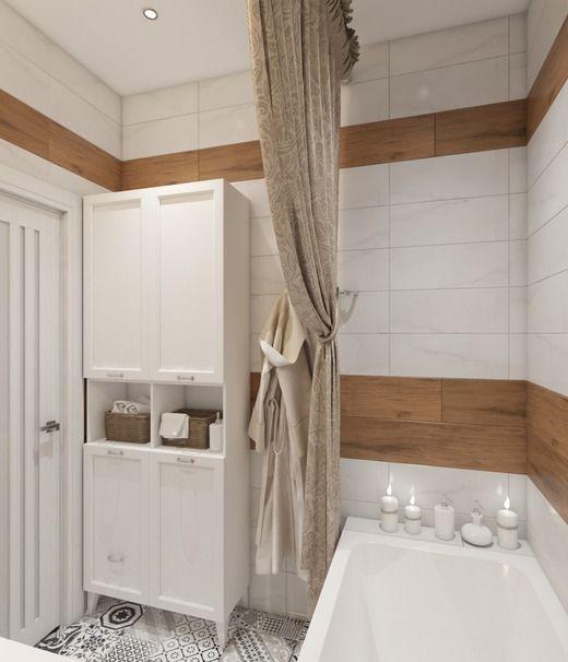 Ванная в двухкомнатной квартире г. Химки. Ванная
