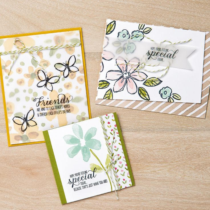 Garden in Bloom Photopolymer Stamp Set by Stampin' Up!