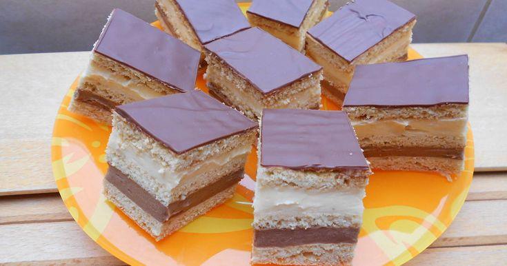 Mennyei Marika szelet recept! Több néven is ismerjük ezt a süteményt. Én a nagymamámtól így tanultam. Igazi hétvégi sütemény.