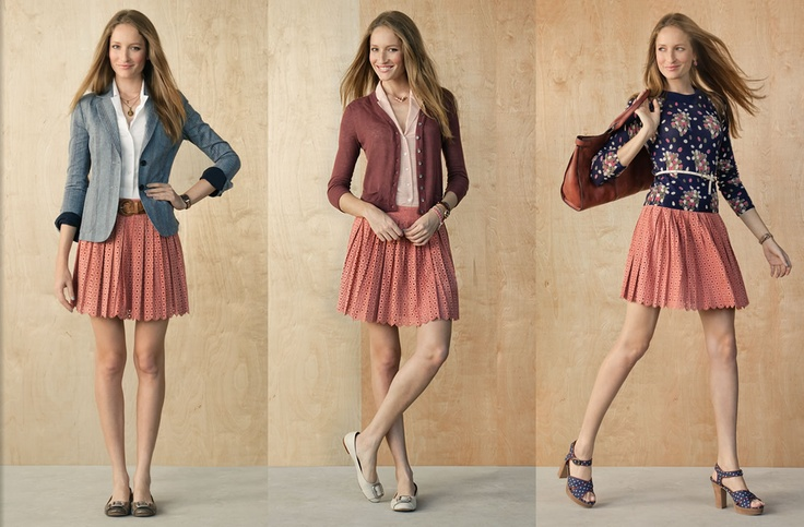 Our detailed suede London skirt is surprisingly versatile. We like to keep it polished with a tailored blazer, or make it more feminine by pairing it with total colors, or a pretty print. #Fossil: Pretty Prints, Flowy Skirts, Fossils Spring, Outfit, Black Skirts, London Skirts, Spring Lookbook, Skirts Three, Pleated Skirts