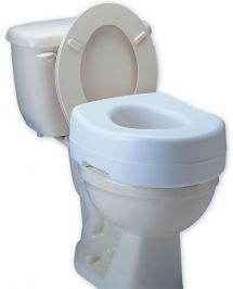 Toilet Seat Riser with Undergrips