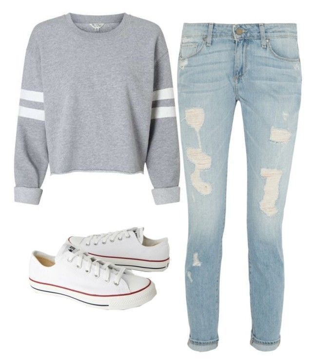 "[ Back To School Hairstyles: ""Back To School Outfit"" by grace-hrabik on Polyvore"