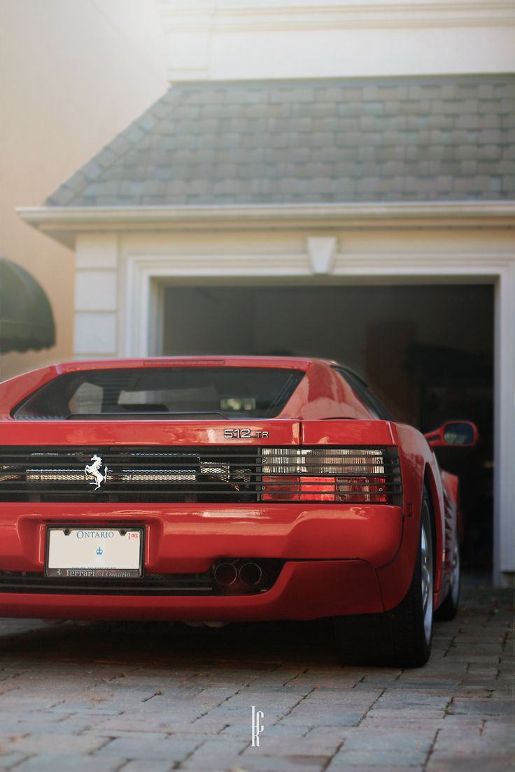 Best 25 testarossa ferrari ideas on pinterest ferrari ferrari ferrari 512 tr in the driveway vanachro Images