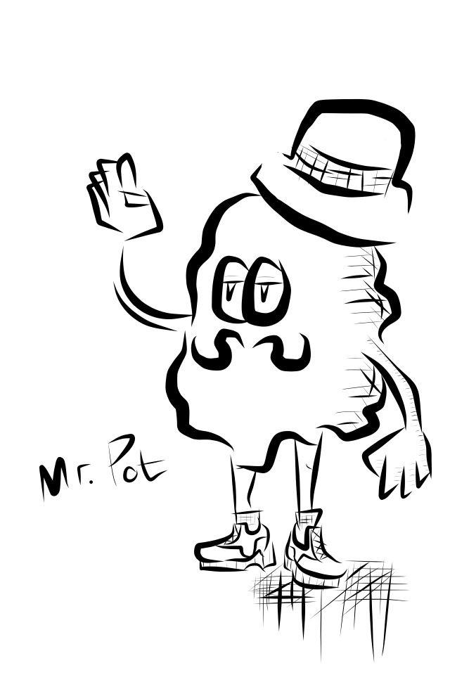 Mr. Pot  *adobe ideas