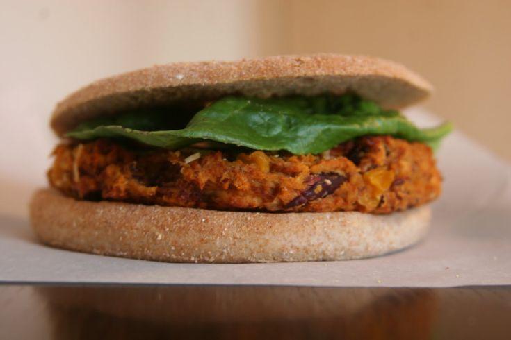 Southwestern Sweet Potato Veggie Burgers | Southwestern Theme | Pinte ...