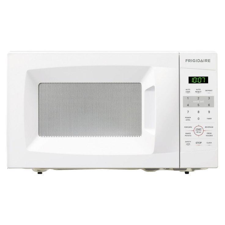 Frigidaire 0.7 Cu. Ft. 700 Watt Countertop Microwave Oven - White FFCM0724LW : Target
