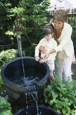 Do it yourself water fountains for Do it yourself water features