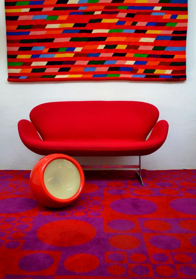 Swam sofa by Arne Jacobsen for Fritz Hansen