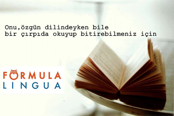Biz,size gerçek bir dil eğitimi vermek için buradayız!
