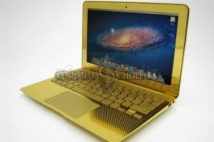 24ct gold macbook pro