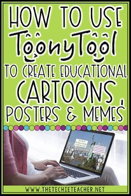 How to Use Toony Tool to Create Educational Cartoons, Posters or Memes for class…