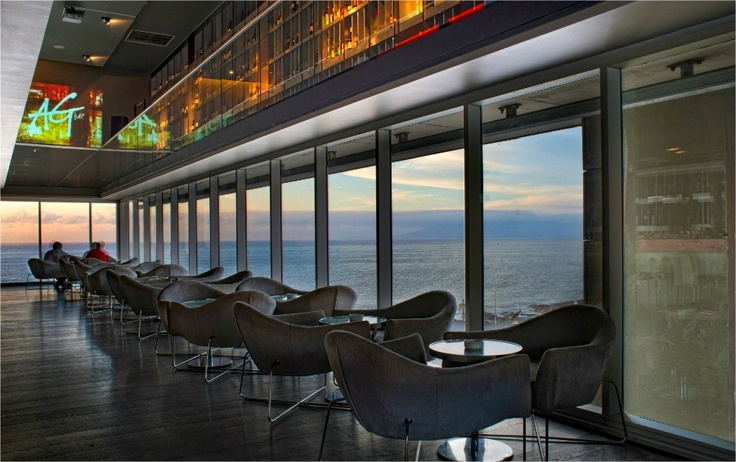 La espectacular vista del bar AG de Enjoy Antofagasta. ¡Imperdible!