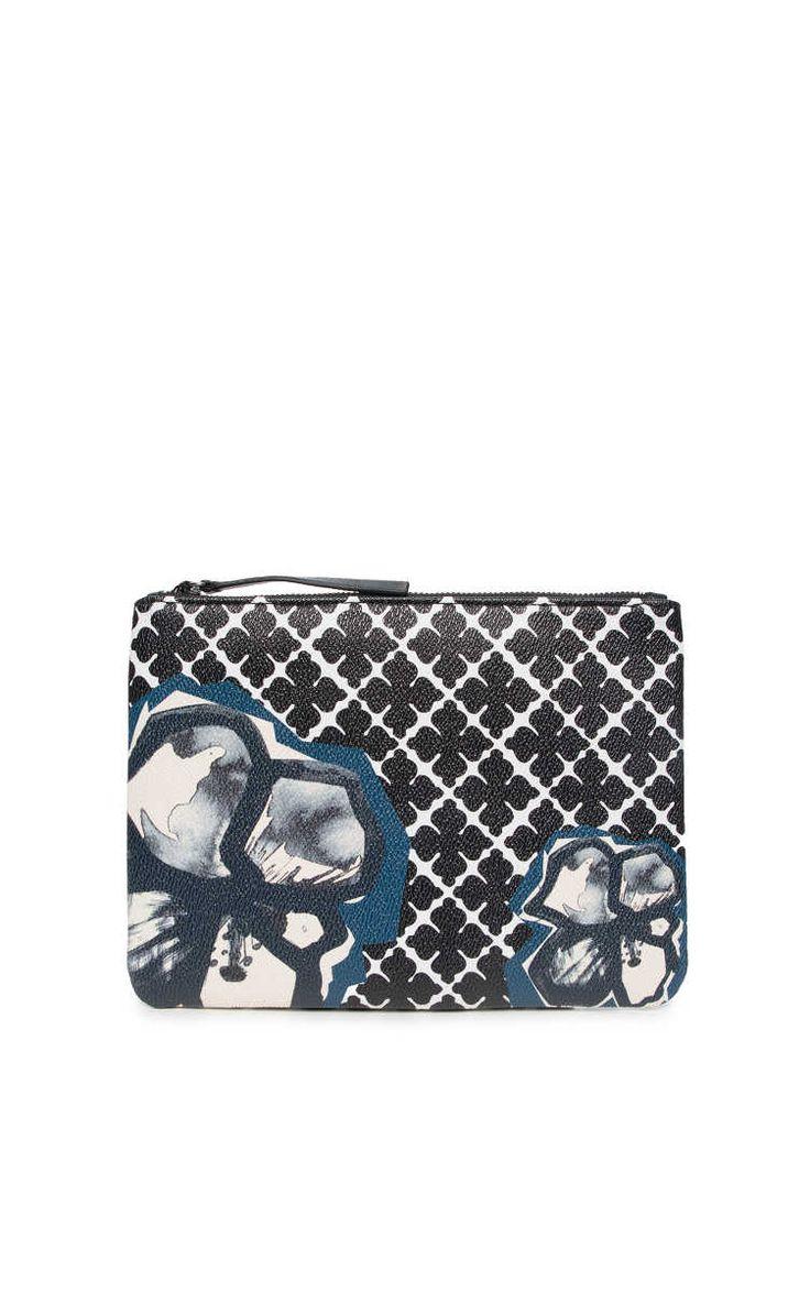 Clutch Dipp Flower BLACK/WHITE - By Malene Birger - Designers - Raglady