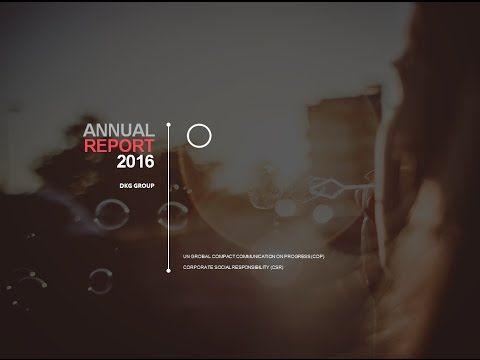 DKG GROUP COP & CSR Report 2016 - YouTube